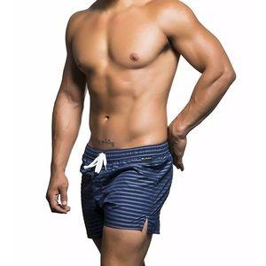 Andrew Christian Mens S Riviera Swim Shorts Trunks
